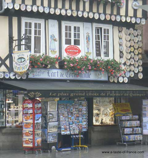 Quimper shop Brittany
