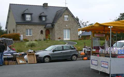 Romagny house Manche Normandy