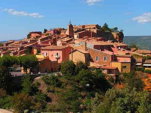 Roussillon France picture
