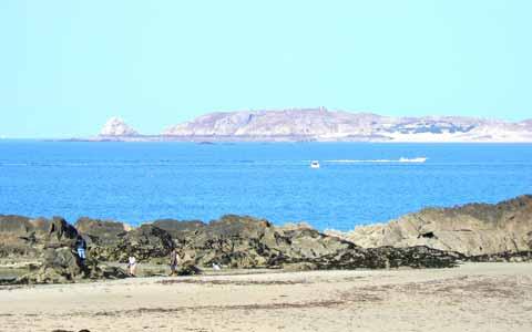 Saint Malo beach Brittany