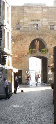 St malo gate Brittany