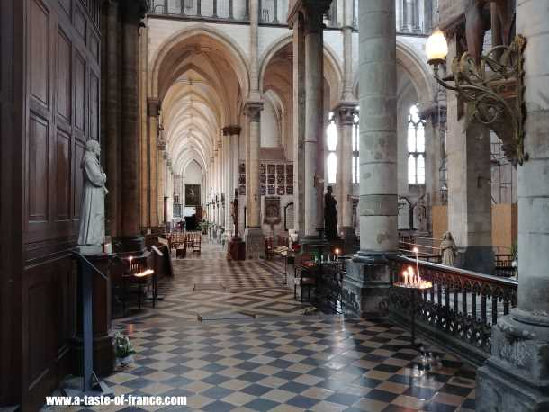 St Omer cathedral France