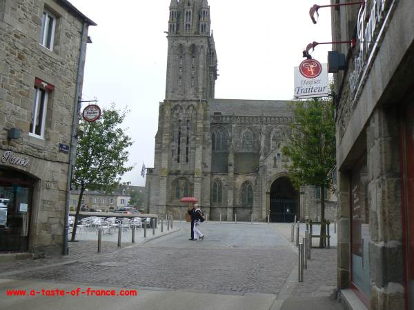 Saint-Pol-de-Leon Cathedral Brittany
