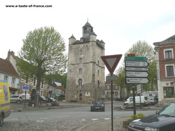 Saint Riquier Northern France