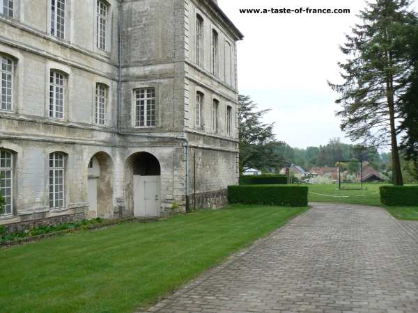 Saint Riquier Abbey Northern France