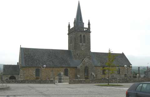 Sainte Cecile church Manche Normandy