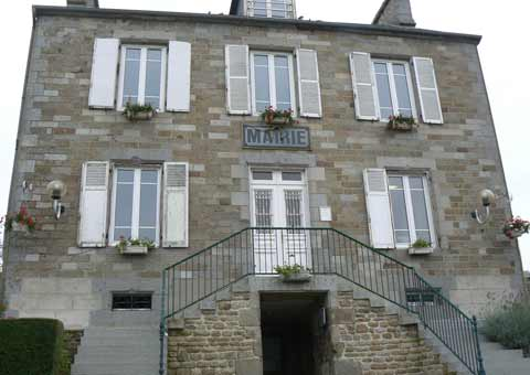 Sainte Cecile Mairie office Manche Normandy