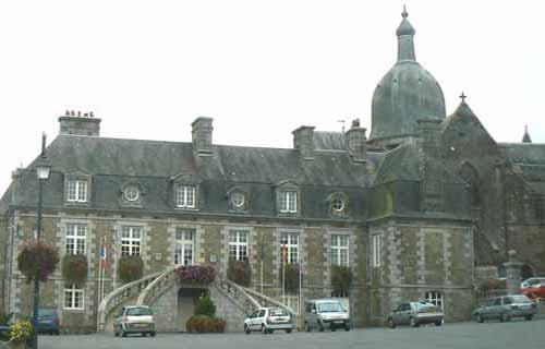 St Sever Calvados Normandy