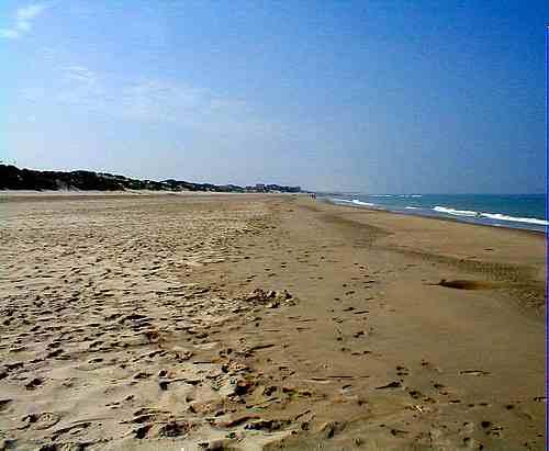 Stella-Plage beach