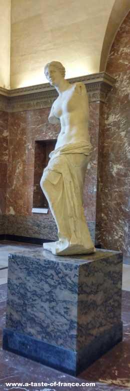 Venus de Milo Louvre museum Paris