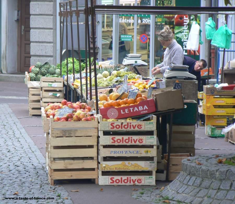 Villedieu les Poeles market France
