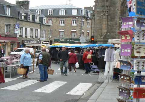 Villedieu les Poeles market Normandy