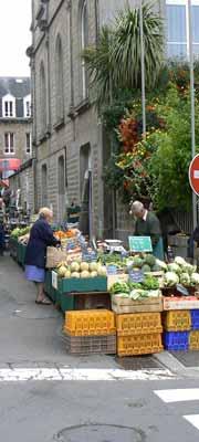 Villedieu les Poeles market