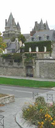 Vitre castle Brittany