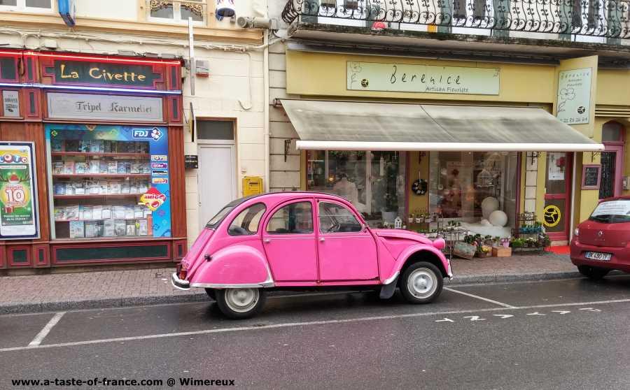 2 CV car Wimereux   France