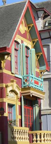 Wimereux painted house