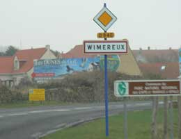 Wimereux Sign picture