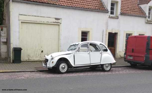 citroen 2cv car Wimille France picture