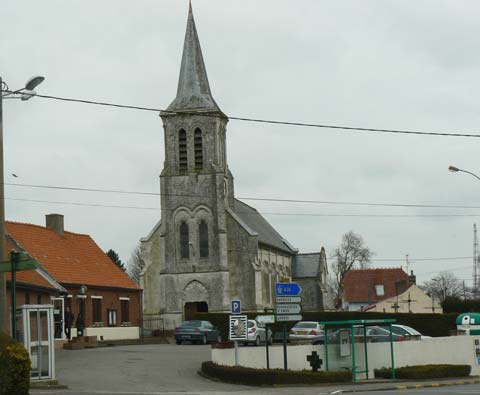 Zouafques church