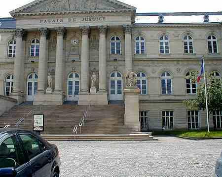 Amiens France Palais de Justice