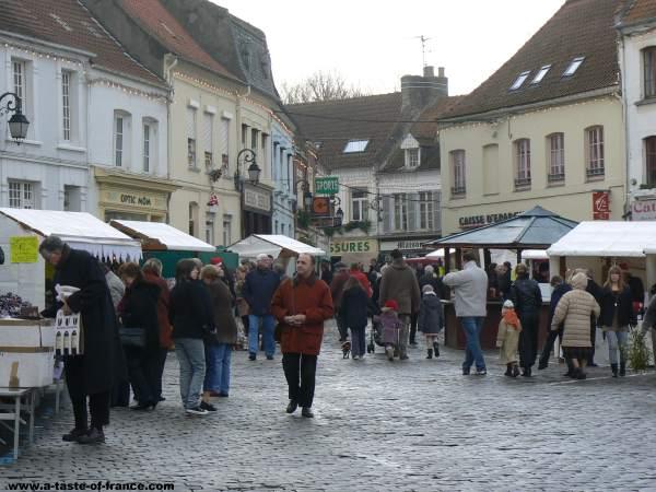 Ardres Xmas market
