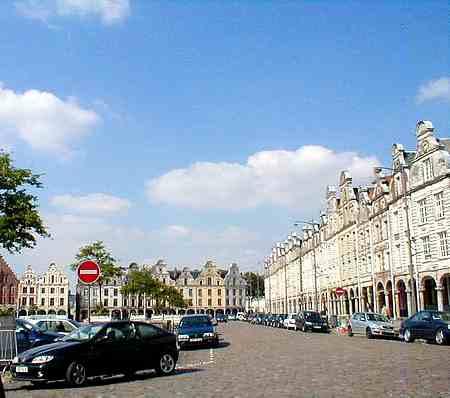 Arras France main square 1 picture