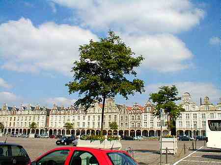 Arras France main square picture
