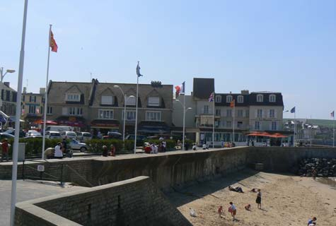 Arromanches les bains France Calvados Normandy