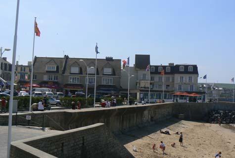 Arromanches les bains France Calvados Normandy
