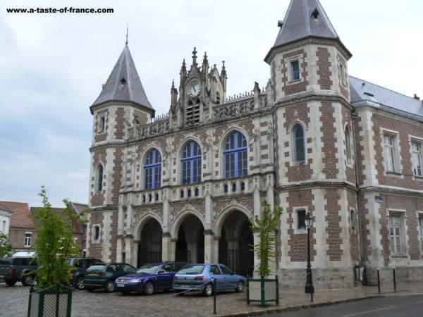 Auxi-le-Chateau France picture
