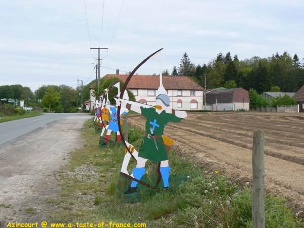 Azincourt France battlefield