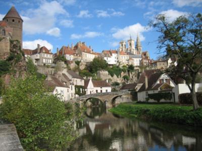 Back View of Semur-en-Auxois