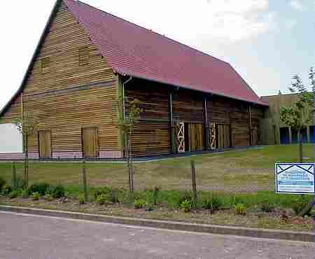 Azincourt museum barn