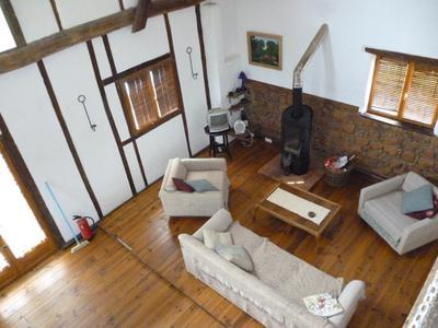 Barn conversion living room