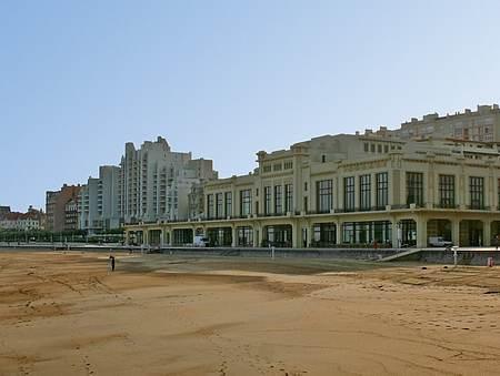 Biarritz beach picture