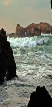 Biarritz cove