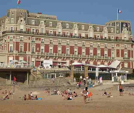 biarritz hotel du Palais picture