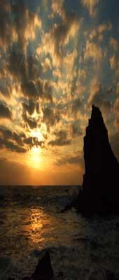 Biarritz sunset