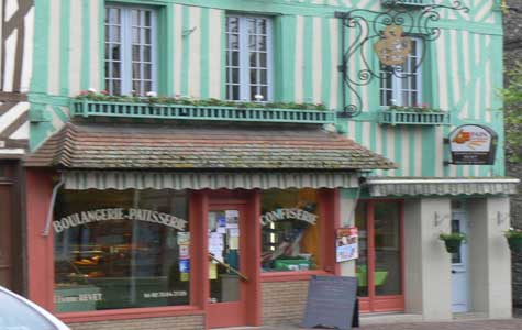 Blangy-le-Chateau bakery