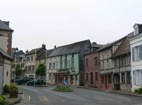 Blangy Le Chateau Normandy village