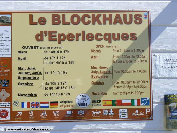blockhaus Eperlecques opening times picture