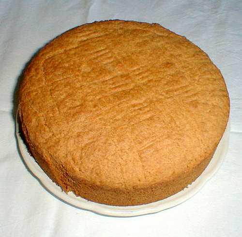 Breton cake picture
