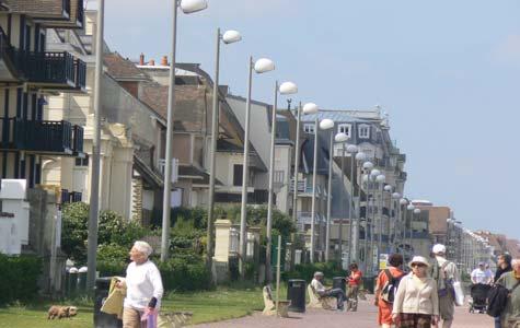 Cabourg sea front Calvados Normandy