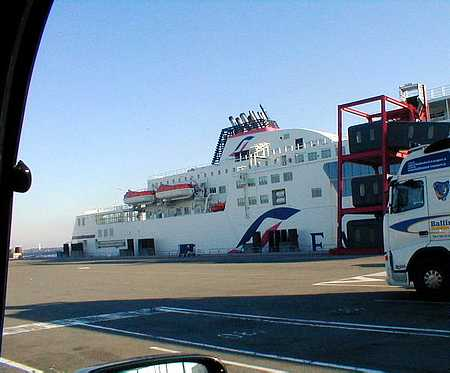 Calais ferry France picture