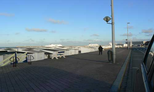 Calais seafront picture