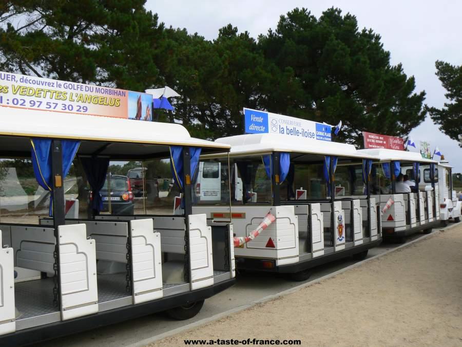 Carnac road train France