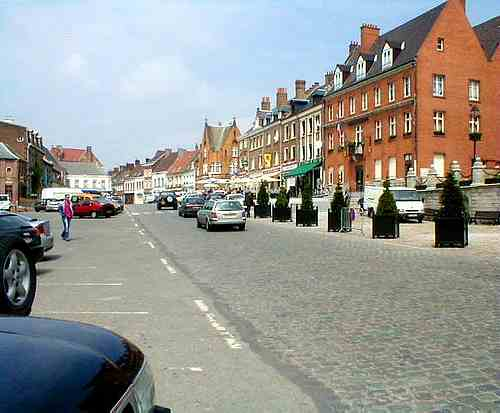Cassel France main street