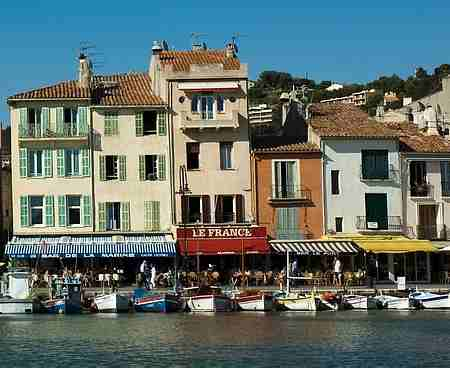 Cassis port picture