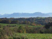 view to mountains