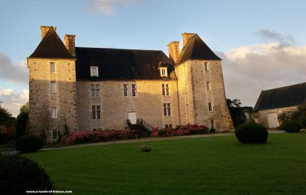 Chateau Le Hommet Normandy France house rental